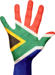 south africa hand